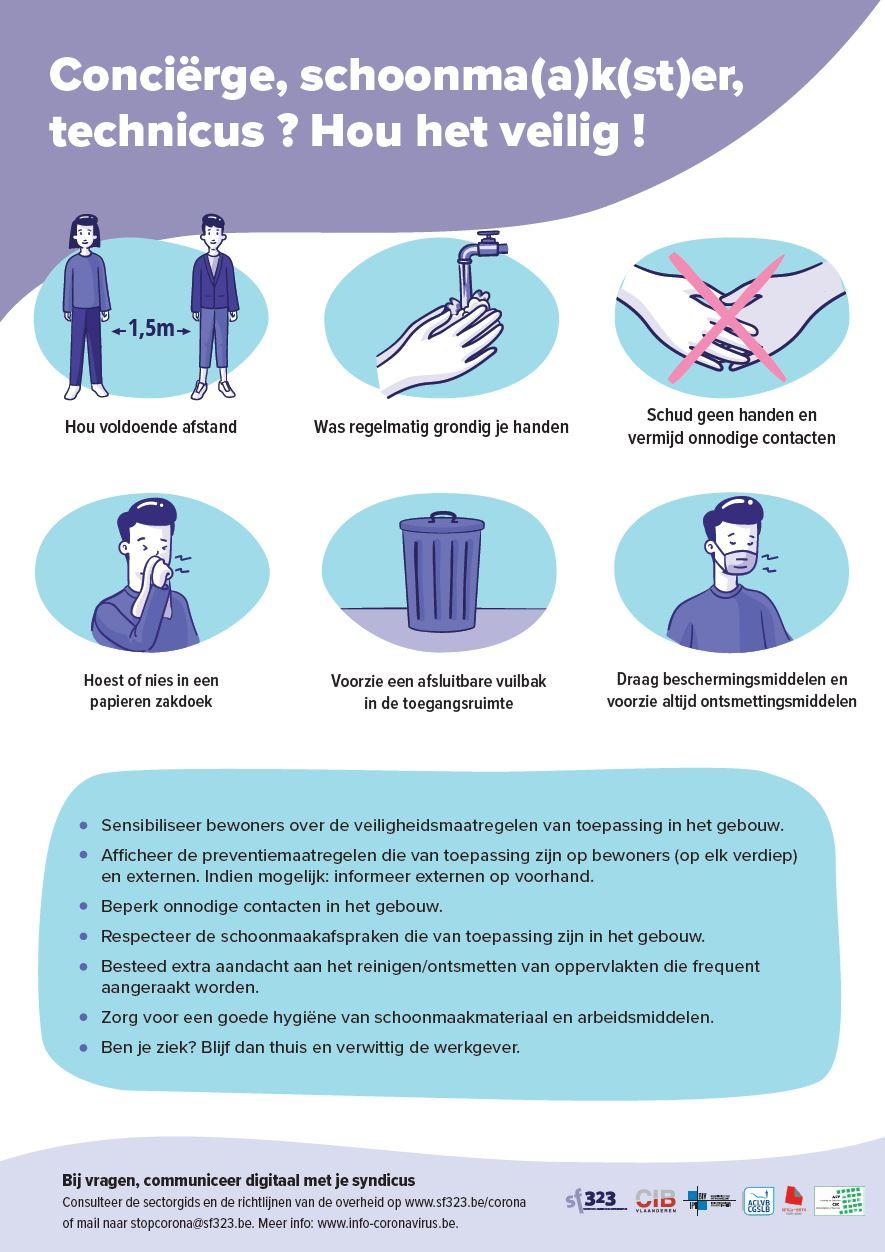 Info poster personeel VME